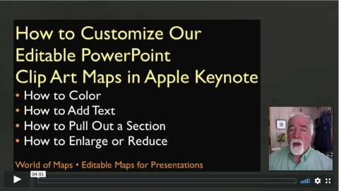 PowerPoint Maps work beautifully with Keynote