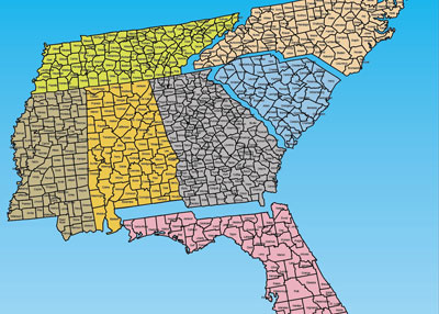 usa county maps, editable powerpoint maps catalog page