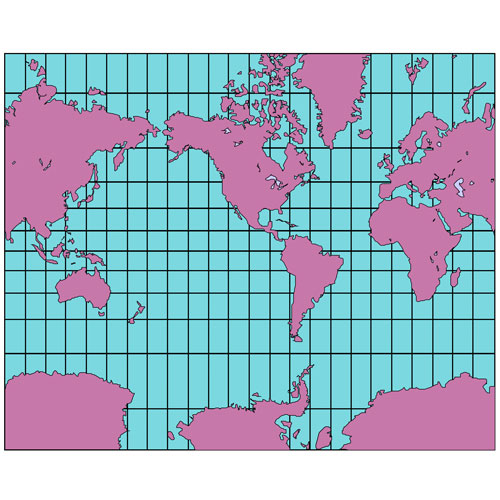 World Mercator Projection PowerPoint Map, North America Centered, Continents See details World Mercator Projection PowerPoint Map, North America Centered, Continents